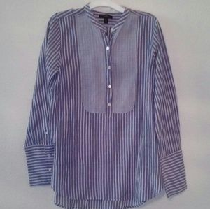 J. Crew Striped Tunic Top size 6